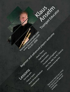 Klaus Anselm School Poster